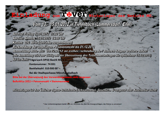 2012-01-13 - 15 Winterlager Rover